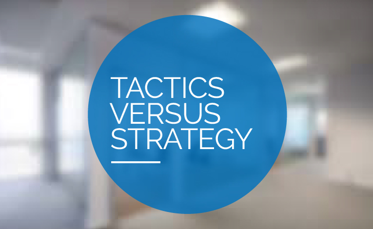 The Death of Strategy, the Dawn of Tactics